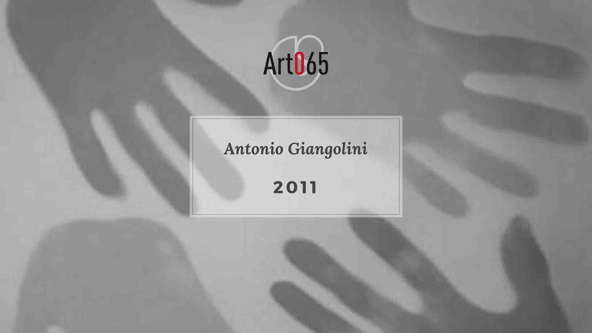 Antonio Giangolini - 2011 Art065